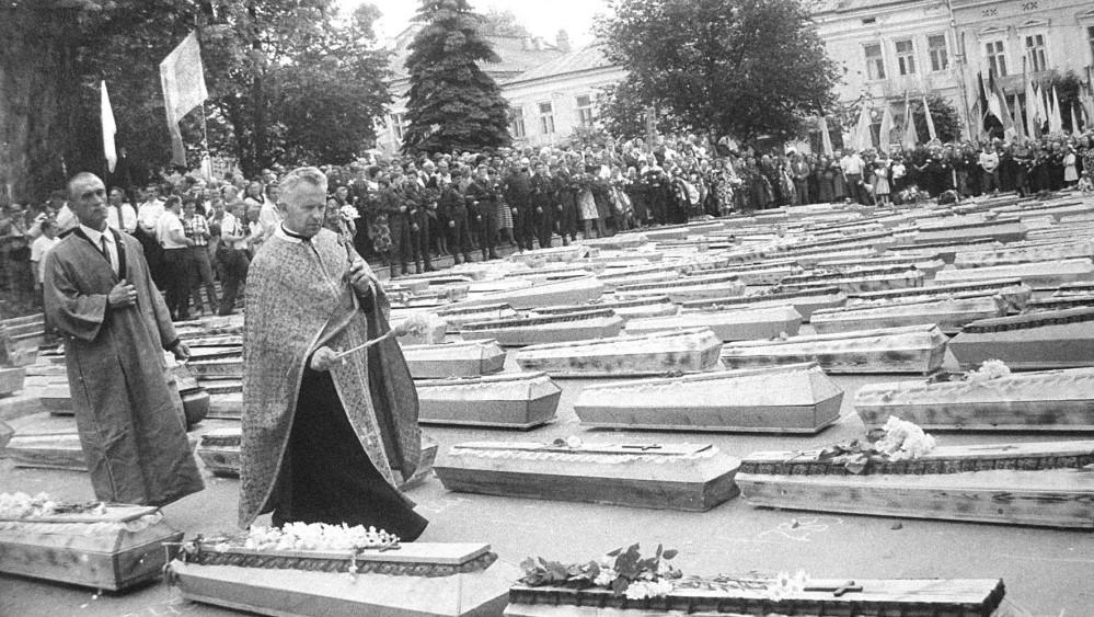 АНОНС. У Дрогобичі відзначатимуть 28-му річницю перепоховання останків жертв більшовицького терору 40-50 рр.