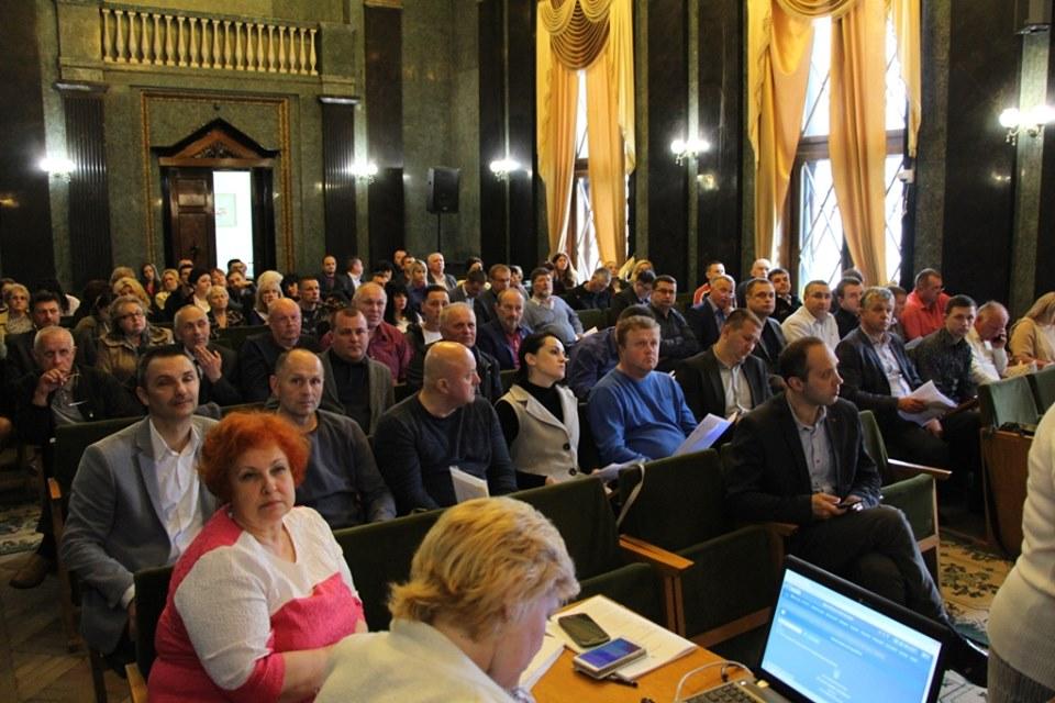Голова Офісу Ради Європи України Марті Енберг у Дрогобичі. ФОТО