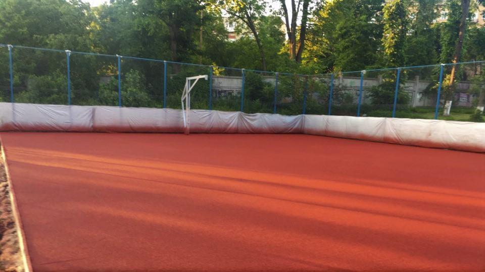 Невдовзі на території ДЮСШ з'явиться новий мультифункційний спортивний майданчик. ФОТО. ВІДЕО