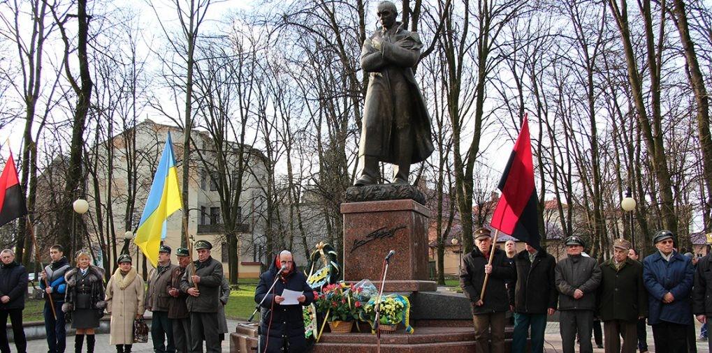 АНОНС. 1 січня у Дрогобичі відзначатимуть 110-ту річницю від дня народження Степана Бандери