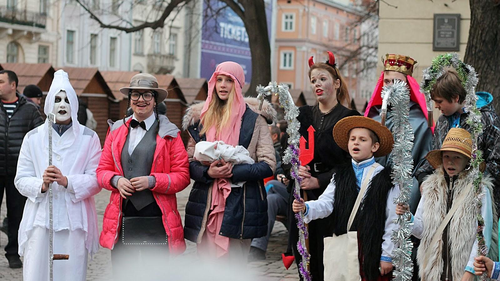 На свято Водохреща вперше у Дрогобичі відбудеться Фестиваль вертепів з пішою ходою