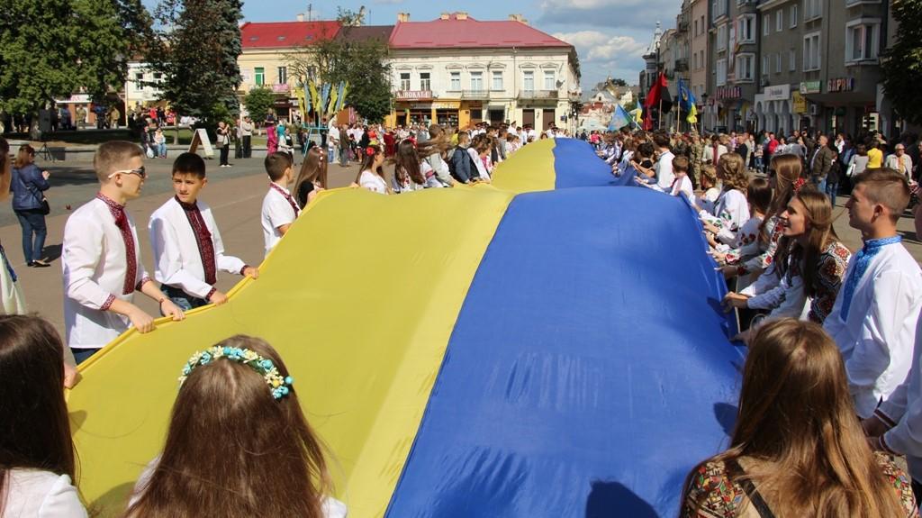 День Державного прапора та 28-му річницю Незалежності України — святкуємо разом! ВІДЕО
