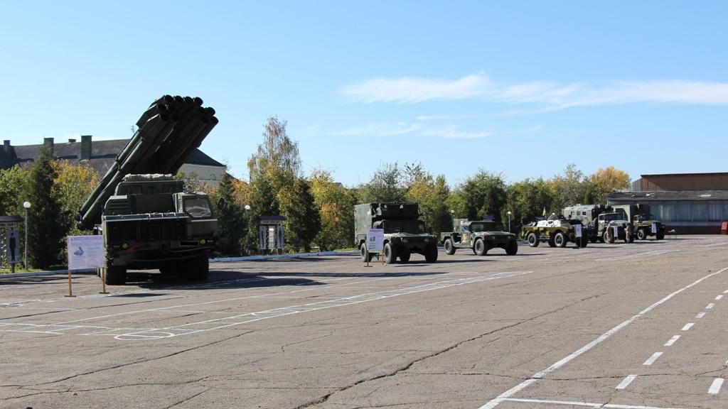 У День захисника України дрогобичан та гостей міста запрошують на огляд військової техніки