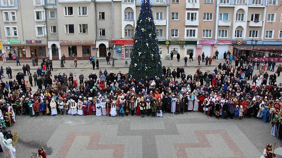 На свято Водохреща запрошуємо до Дрогобича на Фестиваль вертепів
