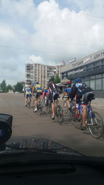 У Дрогобичі відбувся велопробіг на підтримку здорового способу життя