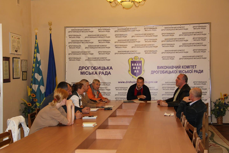 У Дрогобицькій Ратуші відбулось засідання Громадської ради при міському голові