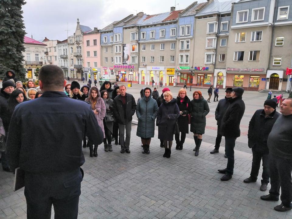 У Дрогобицькій Ратуші провели навчальну пожежну тривогу