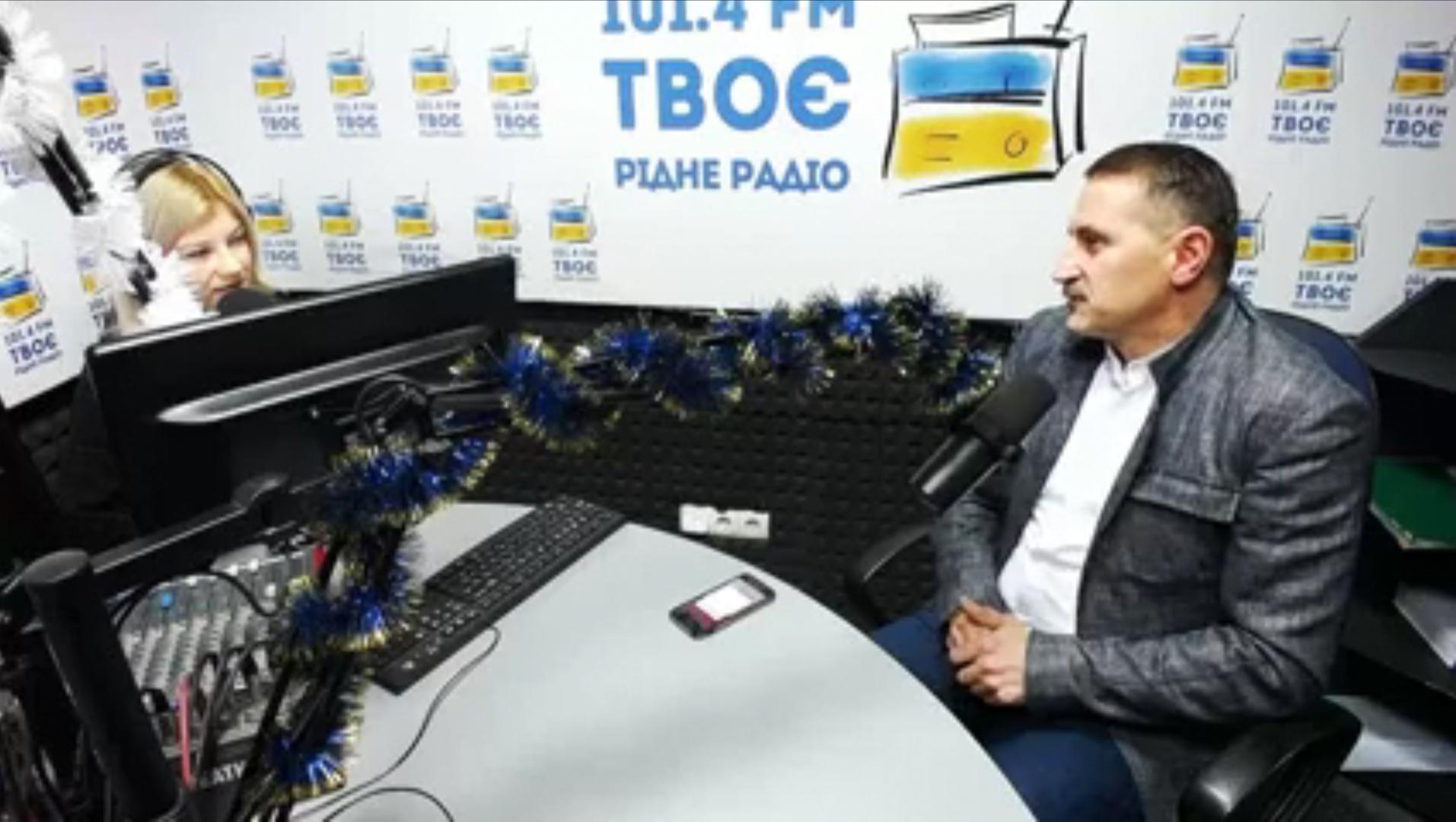 """Підсумки за рік з міським головою Дрогобича Тарасом Кучмою у програмі """"Нам Час Поговорити"""""""