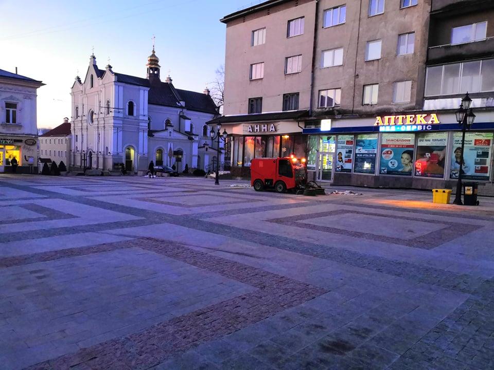 Реконструкцію центральної площі Дрогобича завершено