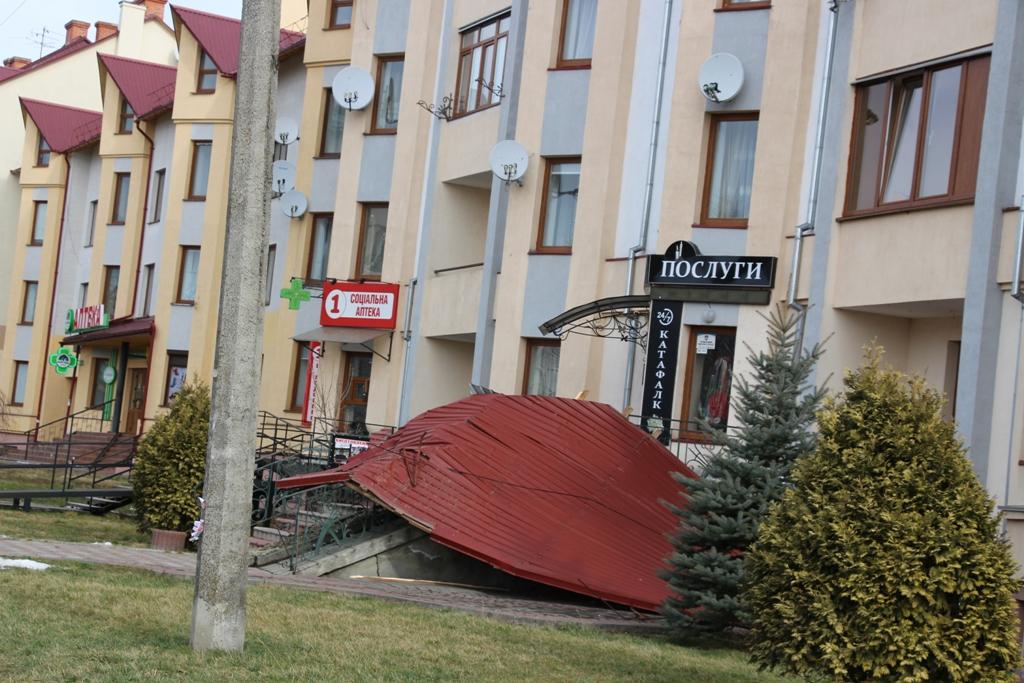 Понеділкова стихія завдала Дрогобичу збитків на понад пів мільйона гривень