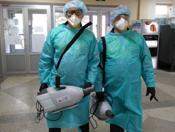 Дрогобицькій поліклініці закупили 2 парогенератори для дезінфекції приміщень