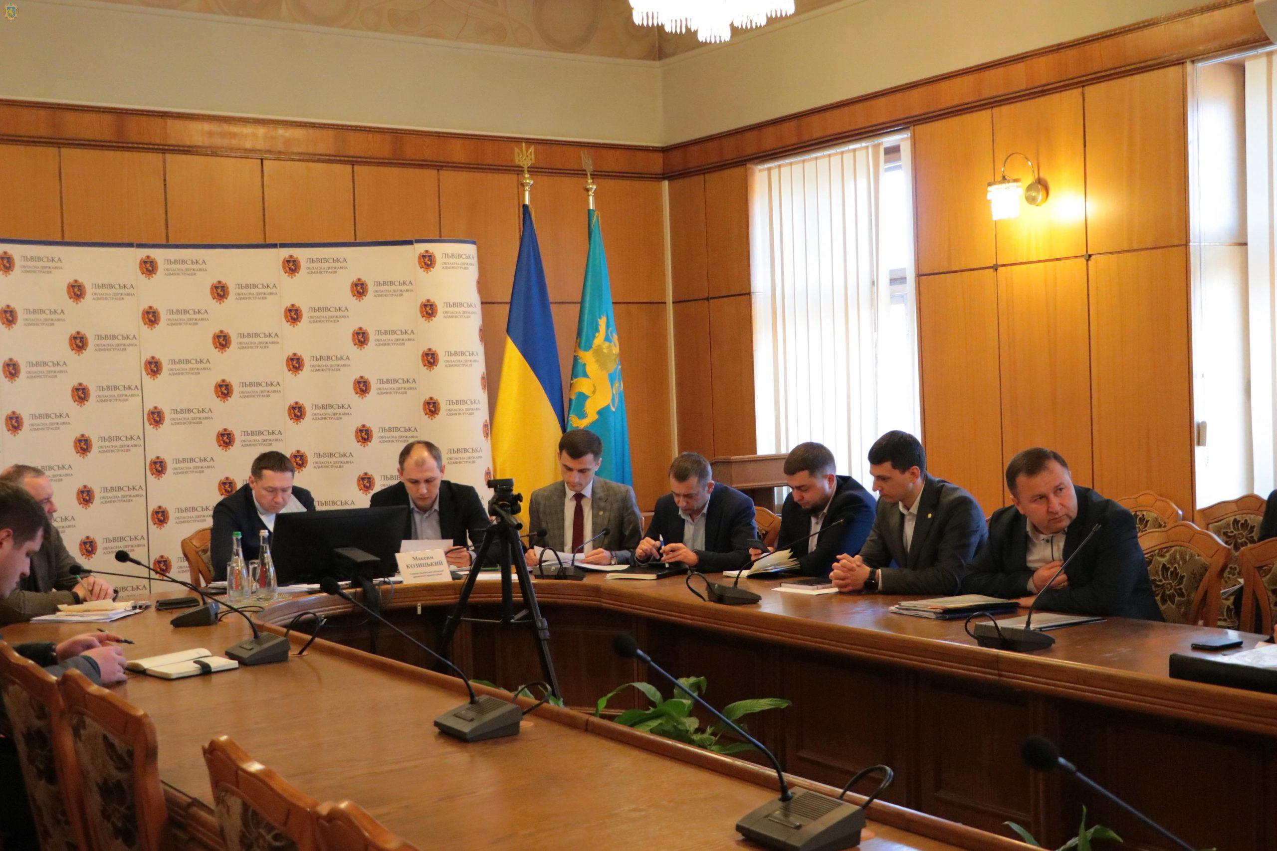Працюємо на випередження: Сьогодні ЛОДА доручила створити координаційні штаби в районах, у Дрогобичі такий штаб вже працює