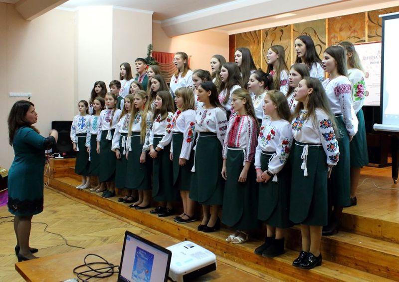 Привітання дрогобичанам від учнів Дрогобицької дитячої музичної школи №2 ім. Р. Сороки