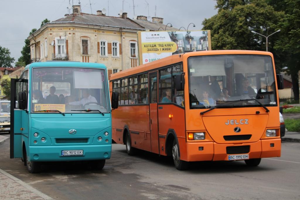 У Дрогобичі відновлено роботу громадського транспорту та автостанції