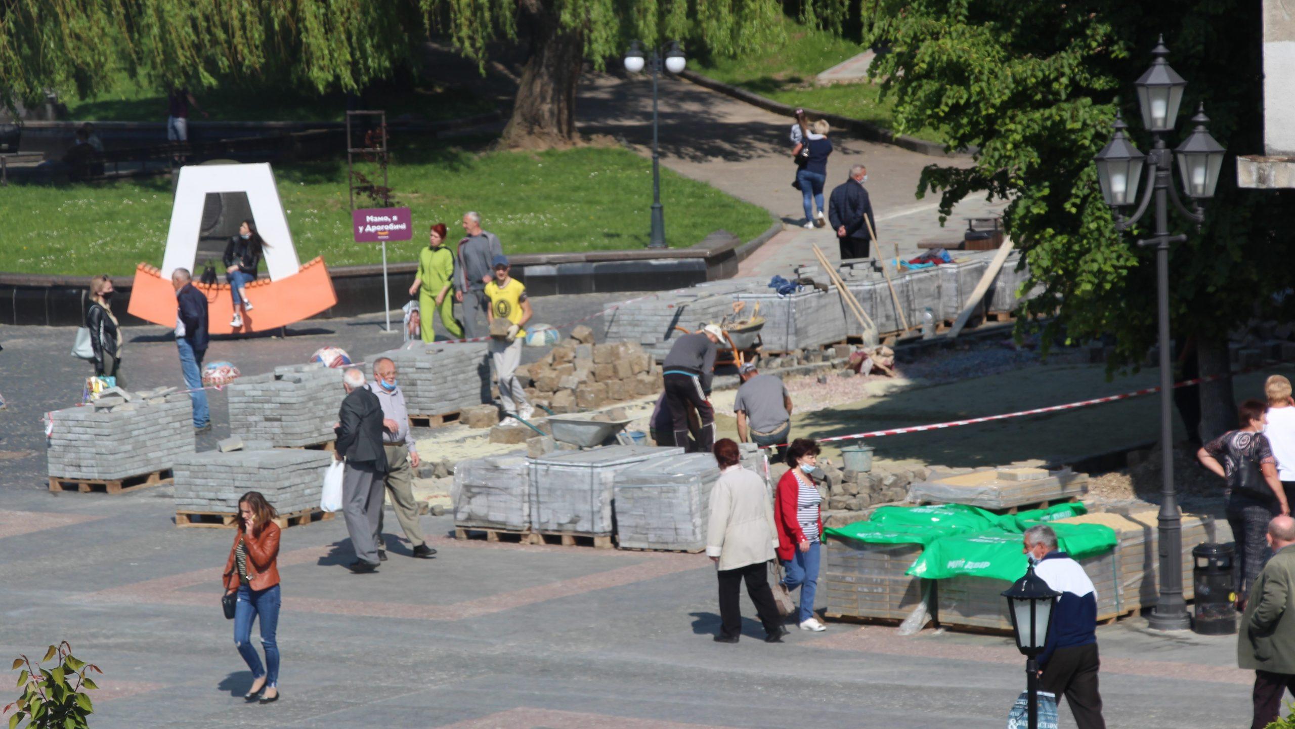 Благоустрій: Де і як у Дрогобичі ремонтують вулиці (Оновлено)