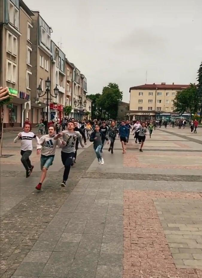 Поліція Дрогобича відкрила справу за фактом недільних подій на площі Ринок