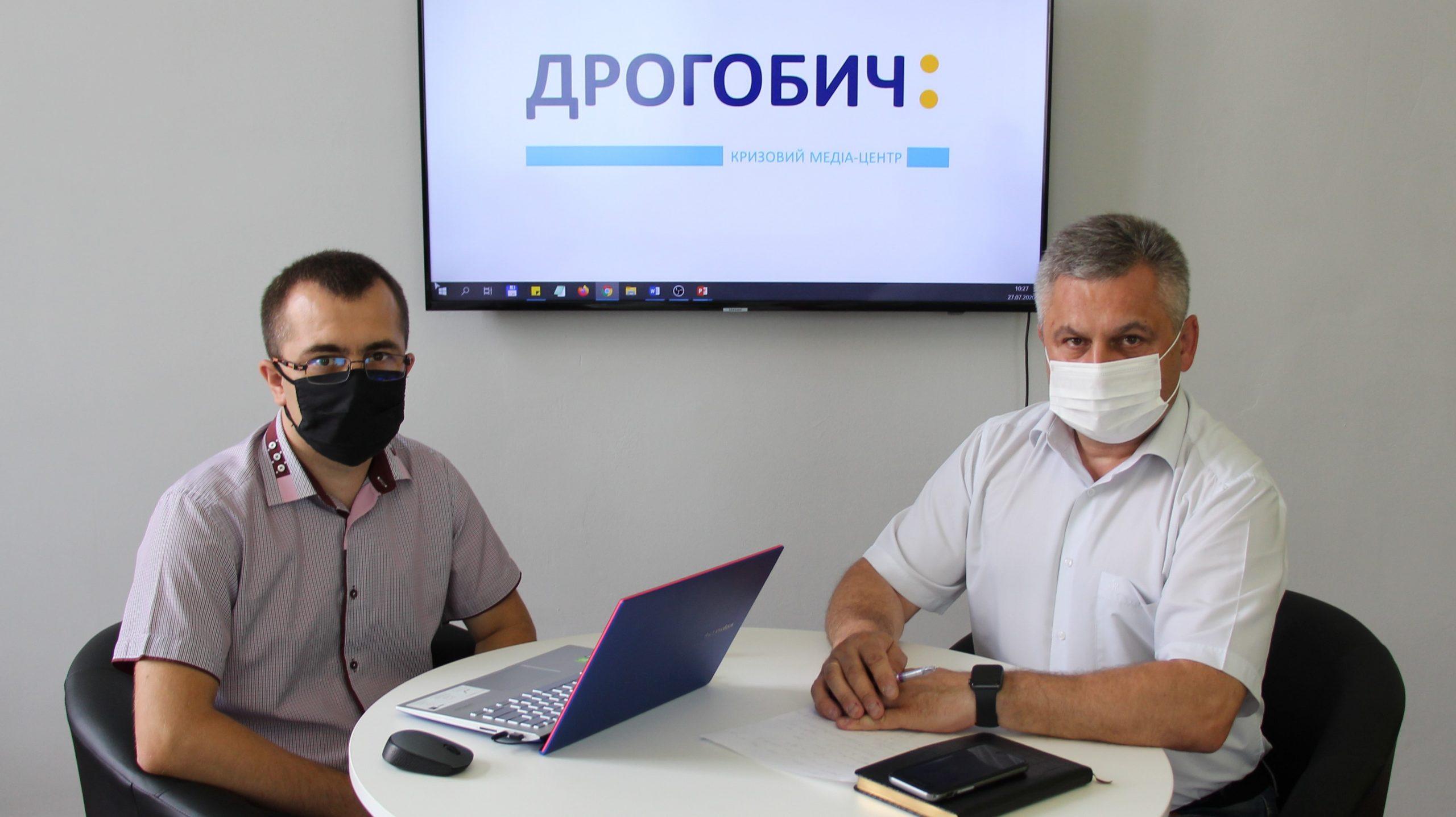 КМЦ «Дрогобич:». Кількість потенційно уражених COVID-19 стрімко зросла