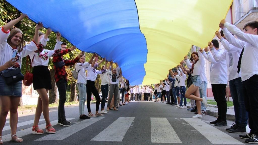 День Державного Прапора України у Дрогобичі відсвяткують просто неба