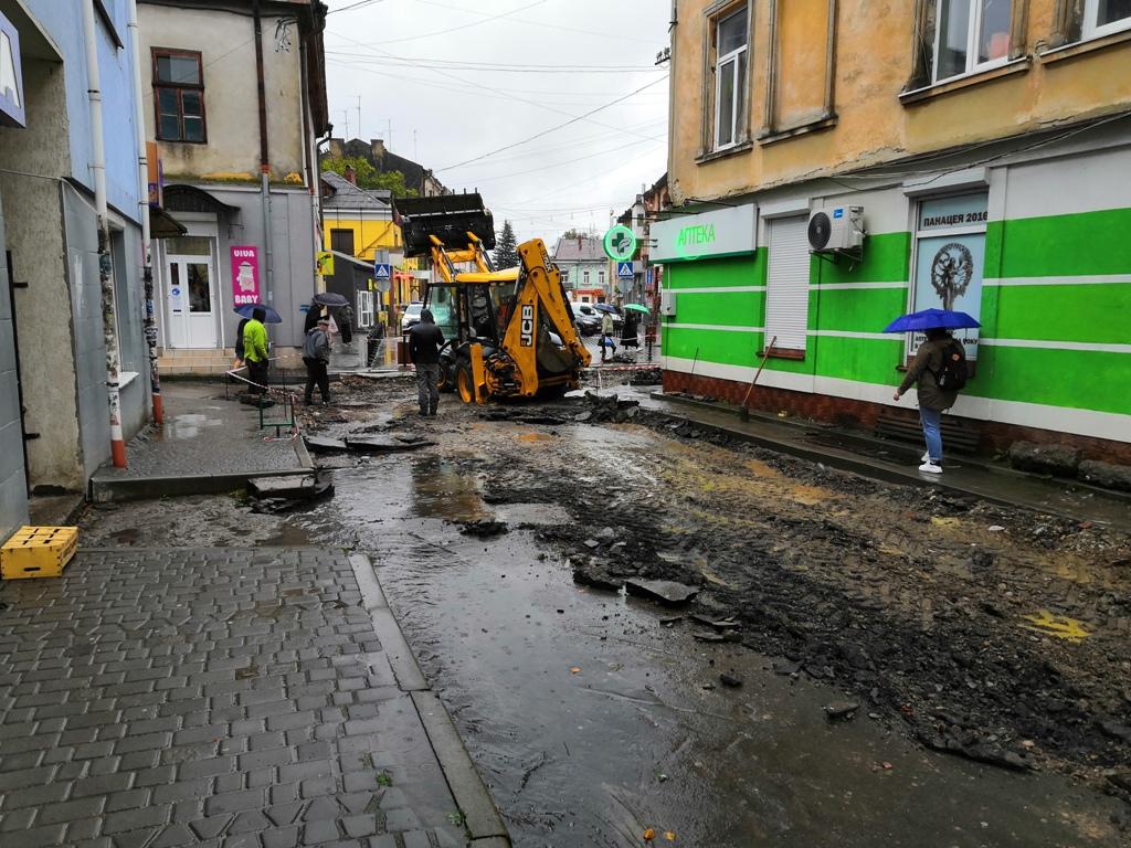 Вулицю Малий ринок та частину вулиці Шолом-Алейхема замостять бруківкою