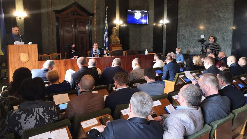 На першій сесії обрано заступників міського голови
