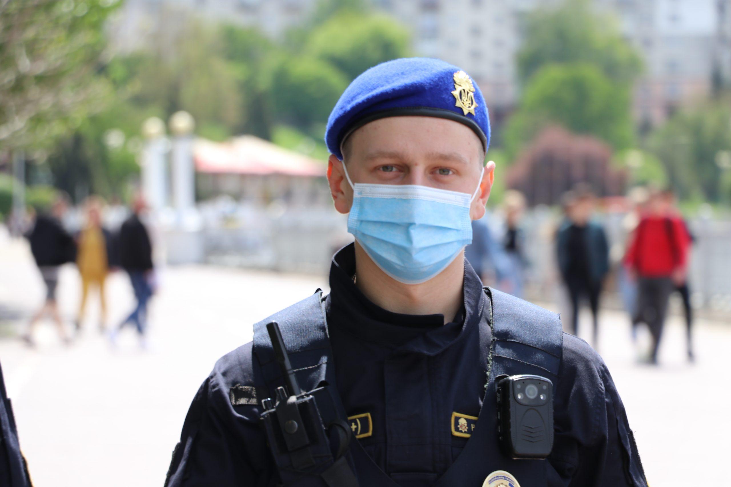 Нацгвардія приступає до охорони громадського порядку у місті Дрогобичі