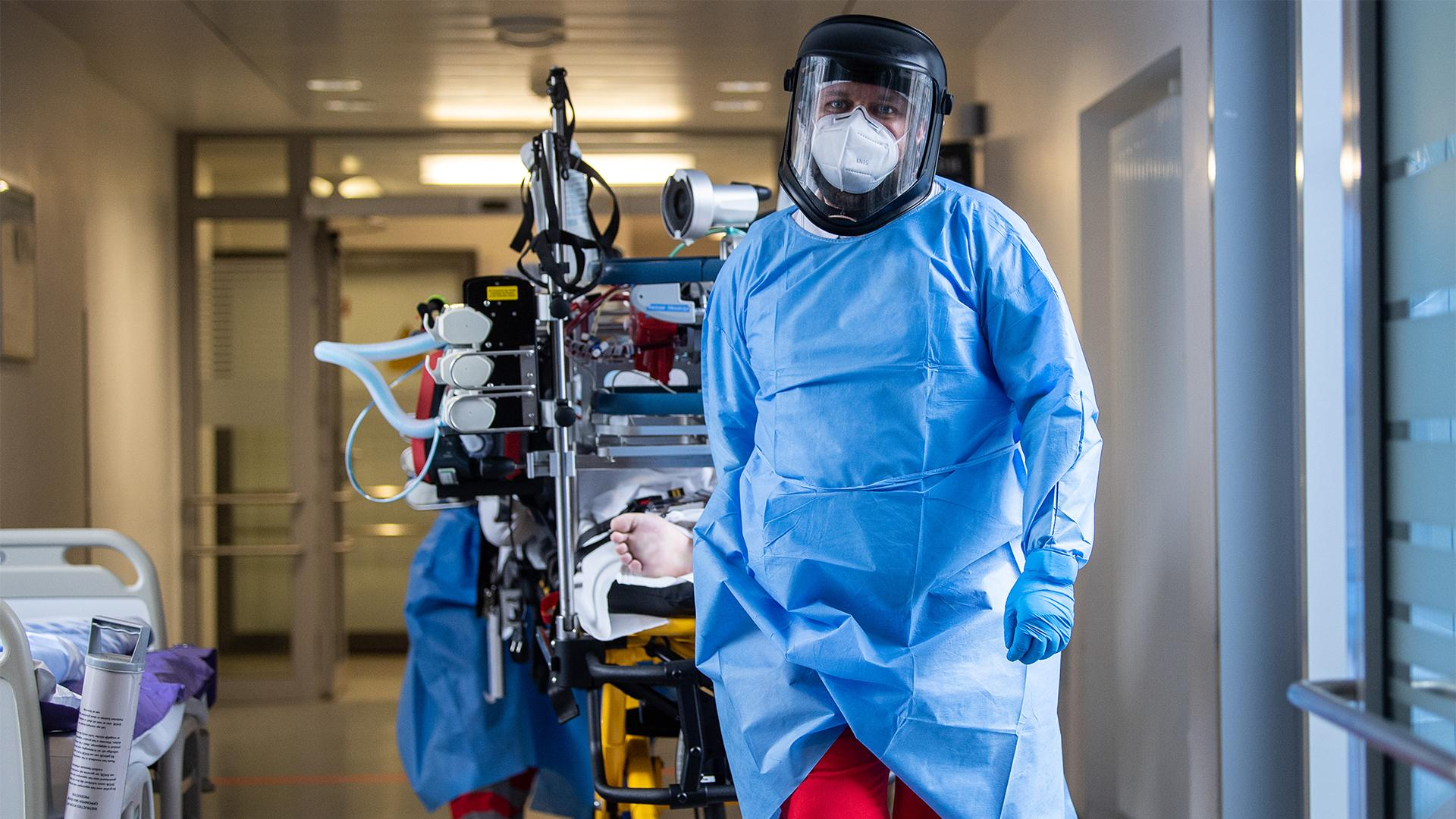 Стебницька інфекційна лікарня із п'ятниці приймає ковідних пацієнтів